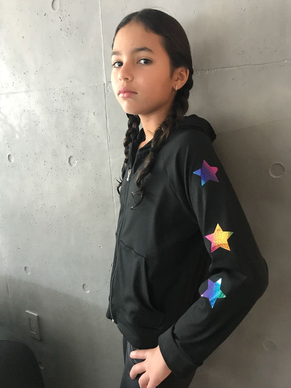 Stars Multicolor Jacket-Tanks-Fanilu