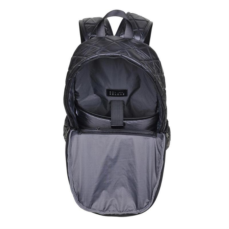 "SOL AND SELENE ""WANDERLUST"" Black Backpack"