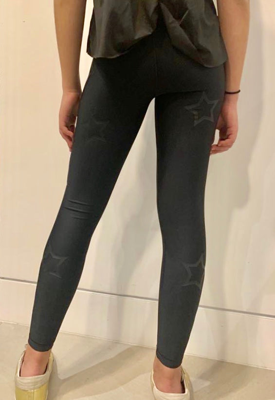 New Stars Legging- Black/Black