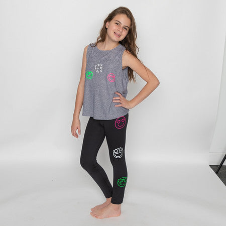 Emoji Leggings-Legging-Fanilu