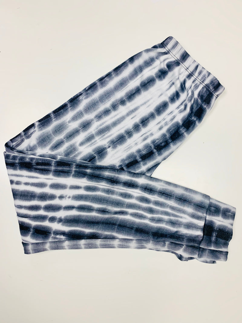 Jogger Tie Dye Grey - Fanilu Activewear For Kids