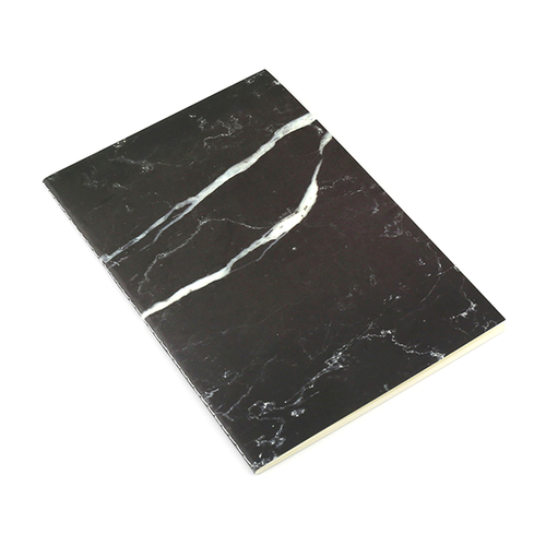 Black Marble A5 Soft Cover Notebook