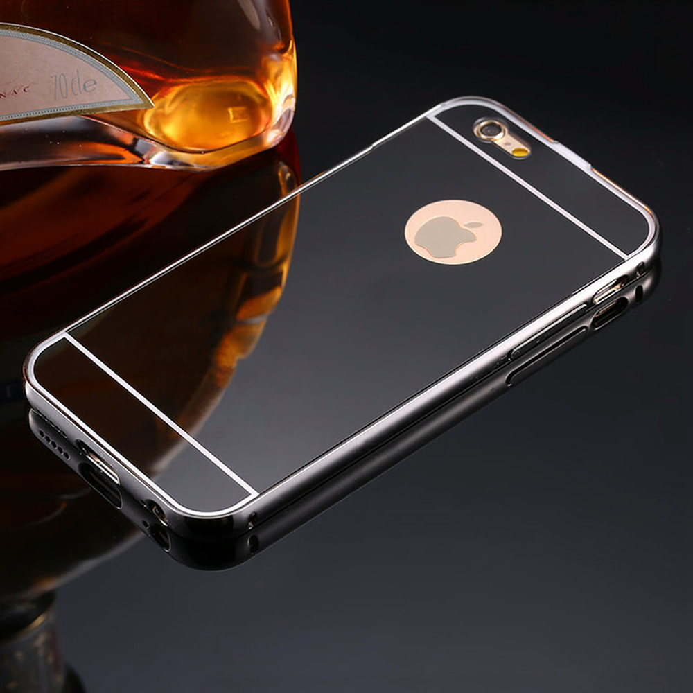Mirror iPhone Case (All Sizes Available) - Black