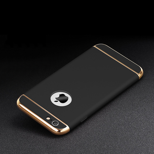 Luxury iPhone Case (All Sizes Available) - Black