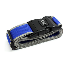 Passcode Protected Luggage Straps