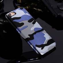 Camouflage iPhone Case (All Sizes Available) - Blue