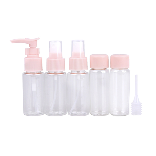 5 Piece Mini Travel Bottles Set