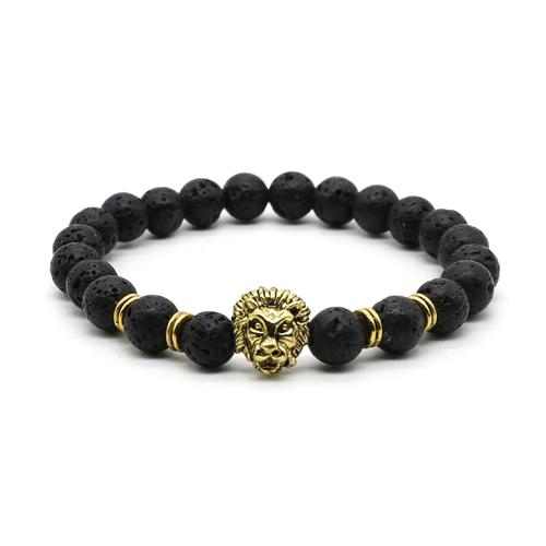 SPECIAL OFFER: Gold Lion Bracelet - Lava