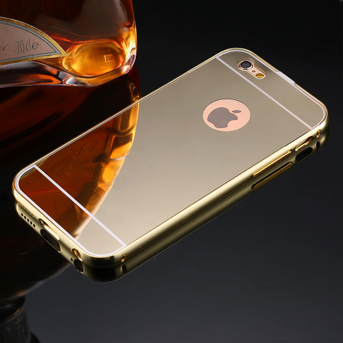 Mirror iPhone Case (All Sizes Available) - Gold