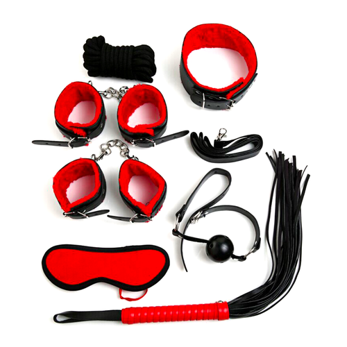 7 Piece Luxury Bondage Set