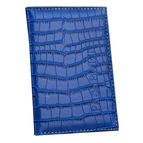 Crocodile Passport Cover / Card Holder