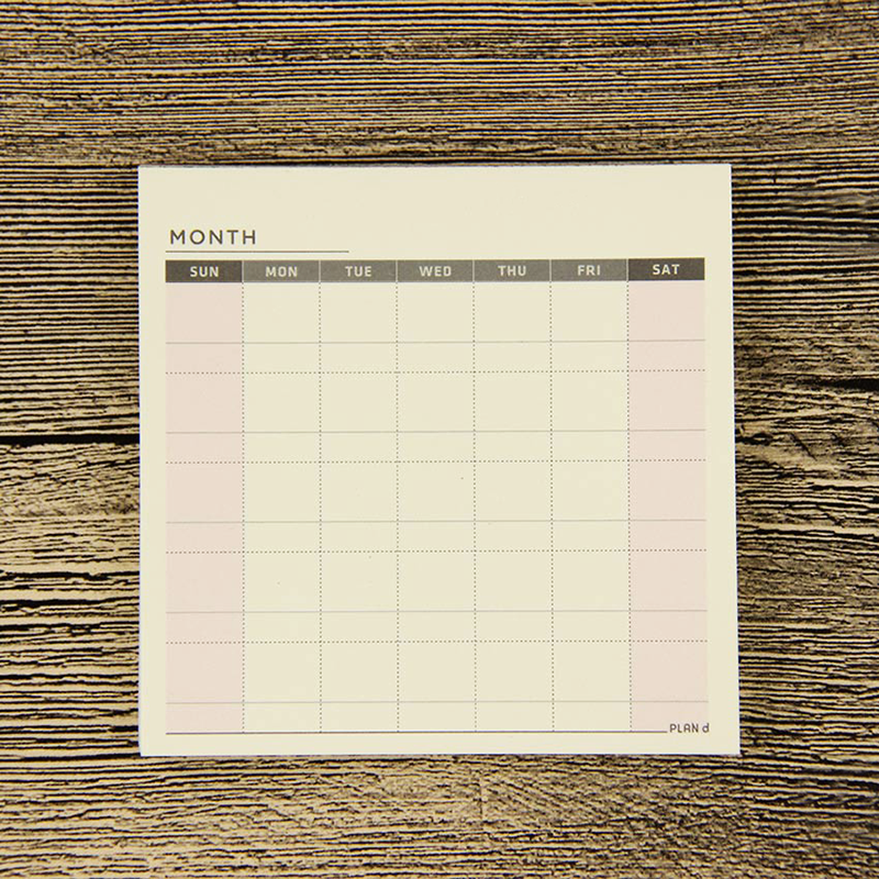Monthly Planning Cards