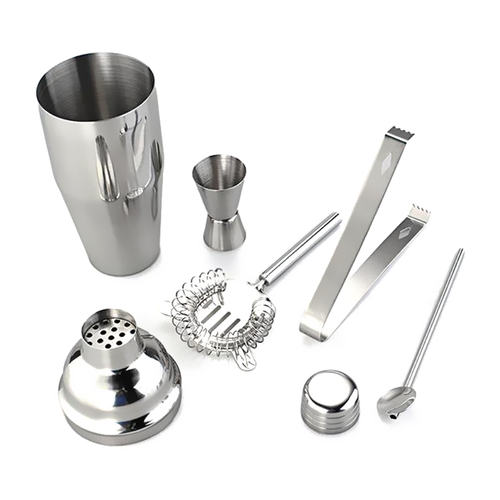 5 Piece Stainless Steel Cocktail Set