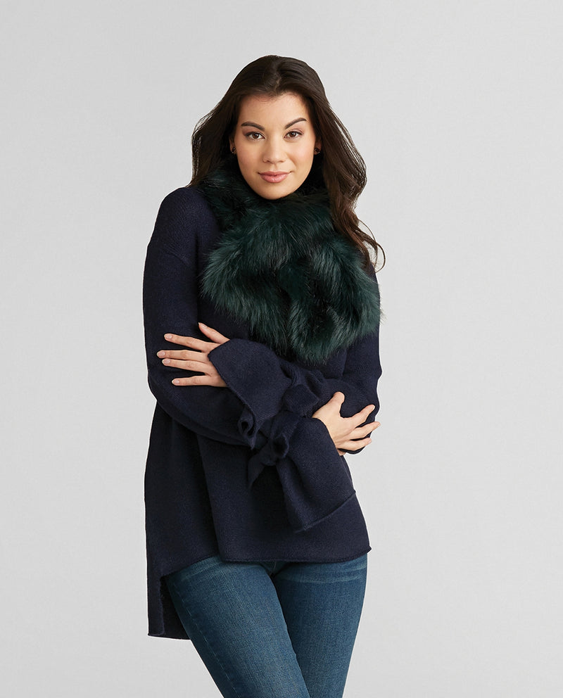 Glamour Faux Fur Scarf