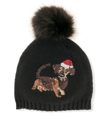 Fleece lined winter hat