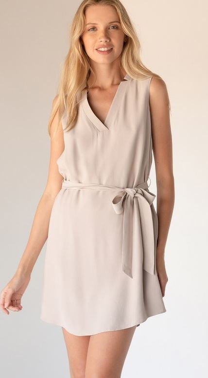 Mini V-Neck Dress