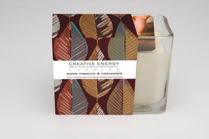 Warm Tobacco & Coriander Soy Lotion Candle