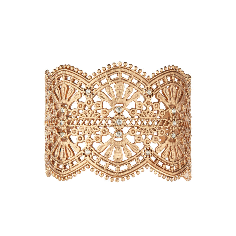 Queen's Lace Statement Cuff