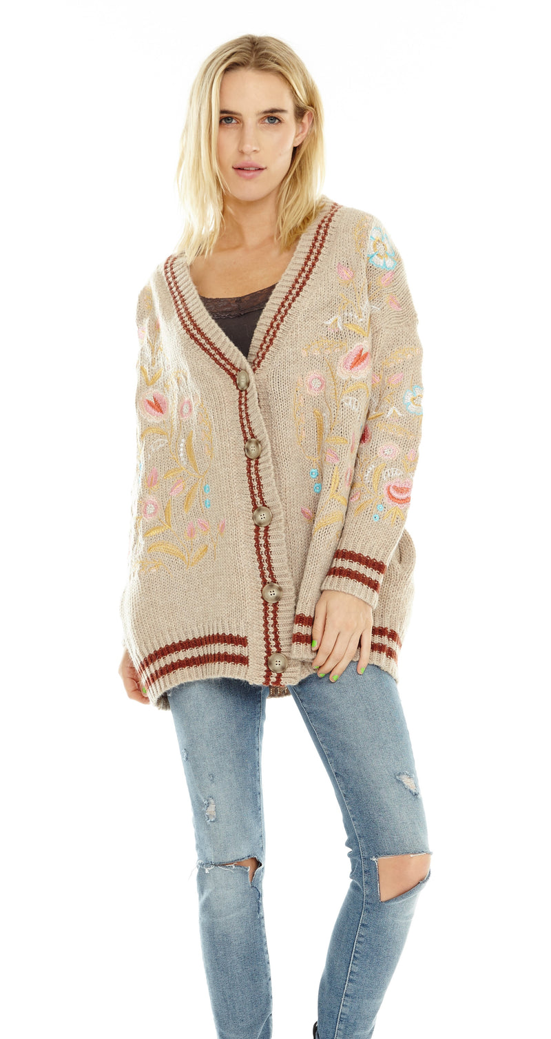 Tomboy Sweater Cardigan