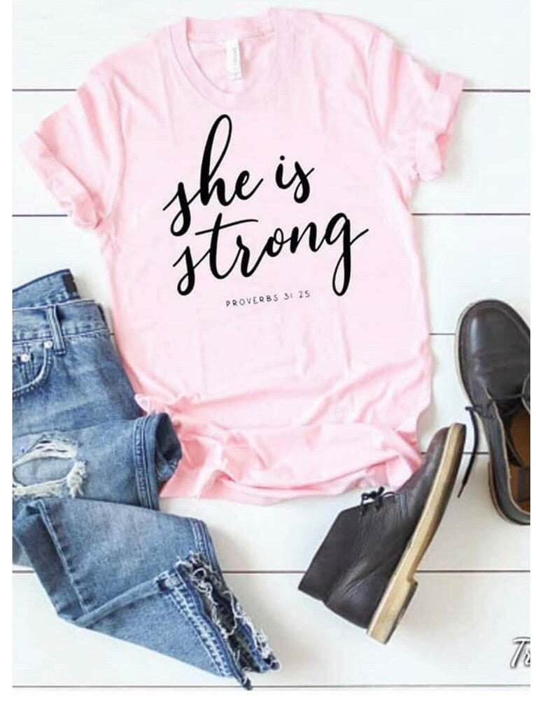 She is Strong - Special Edition Tee