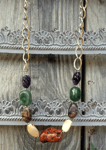 Semi-Precious Stone Necklace
