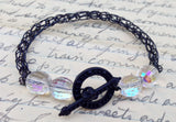 Black Viking Knit Bracelet
