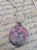 Floral Pendant Necklace