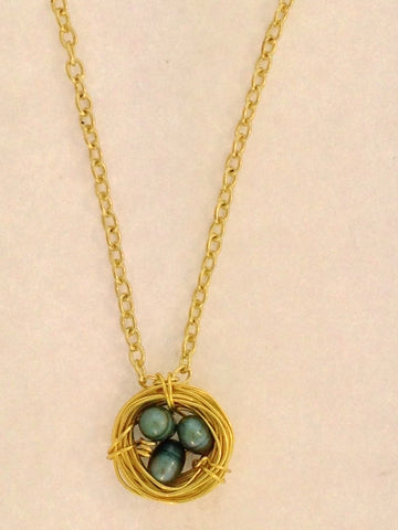 Robin Nest Necklace