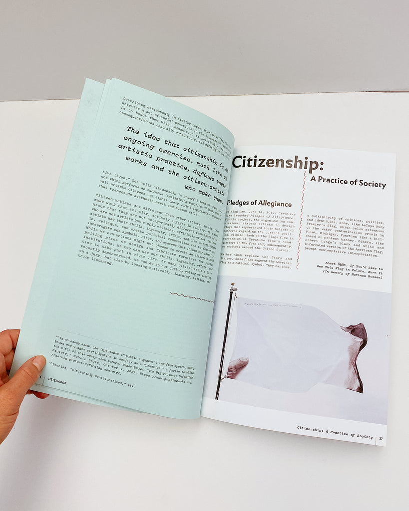 Citizenship: A Practice of Society