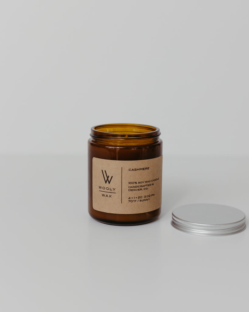 8oz Wooly Wax Candle