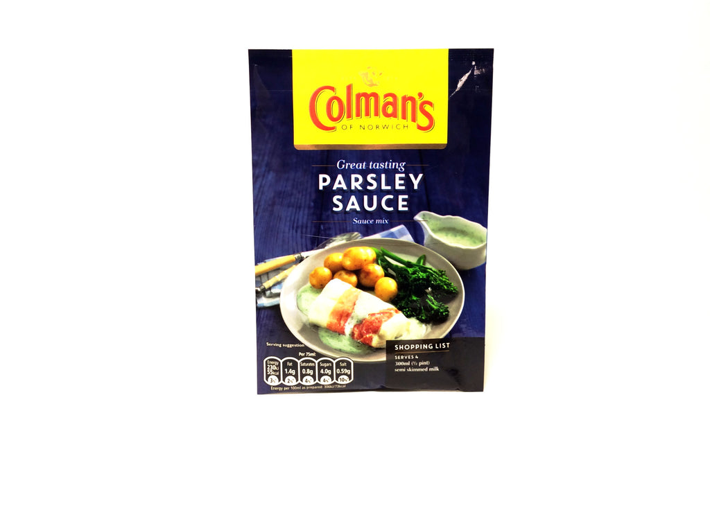 Colman's Parsley Sauce, Grocery - Blighty's British Store