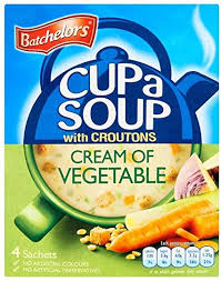 Batchelor's Cup A Soup Cream of Vegetable, Grocery - Blighty's British Store