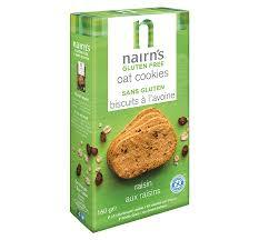 Nairns GLUTEN FREE Raisin Oat Cookies
