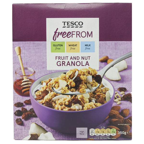 Tesco Free From Fruit & Nut Granola 350g