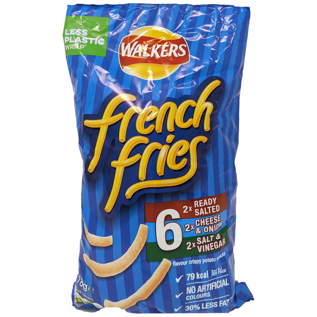 Walker's French Fries Variety 6 Pack (6 x 18g)