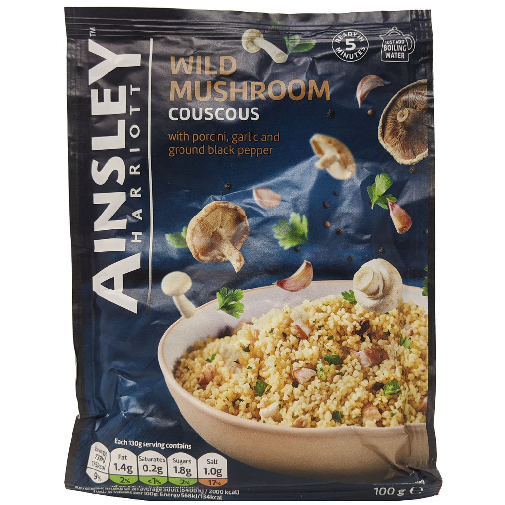 Ainsley Harriott Wild Mushroom CousCous 100g - Blighty's British Store