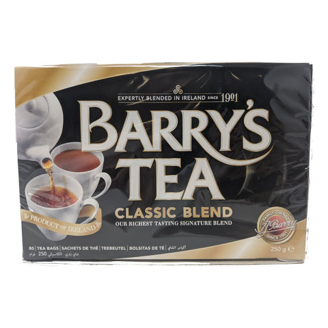 Barry's Tea Classic Blend 80 Bags - Blighty's British Store