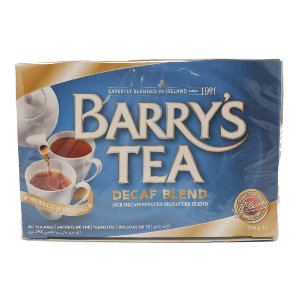Barry's Tea Decaf Blend 80 Bags - Blighty's British Store