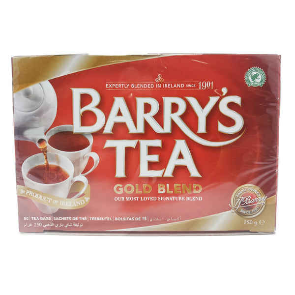 Barry's Tea Gold Blend 80 Bags - Blighty's British Store