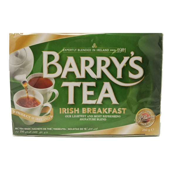 Barry's Tea Irish Breakfast 80 Bags - Blighty's British Store