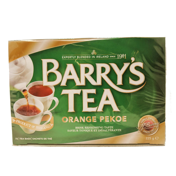 Barry's Tea Orange Pekoe 72 Bags - Blighty's British Store