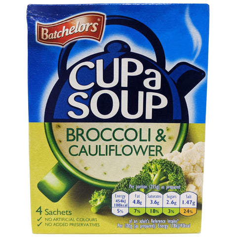Batchelor's Cup A Soup Broccoli & Cauliflower 101g - Blighty's British Store
