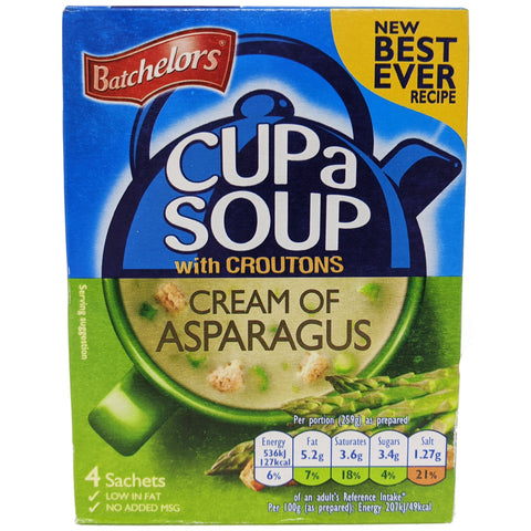 Batchelor's Cup A Soup Cream Of Asparagus 117g - Blighty's British Store