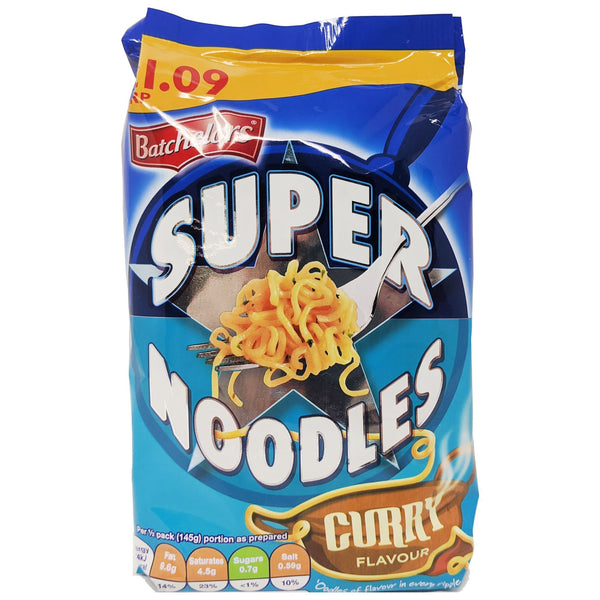 Batchelor's Super Noodles Curry 100g - Blighty's British Store