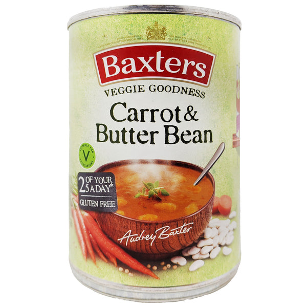 Baxter's Carrot & Butter Bean Soup 400g - Blighty's British Store
