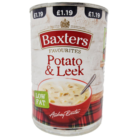 Baxter's Potato & Leek Soup 400g - Blighty's British Store