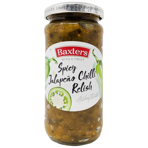 Baxter's Spicy Jalapeno Chilli Relish 220g - Blighty's British Store