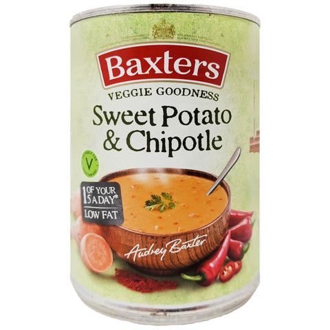 Baxter's Sweet Potato & Chipotle Soup 400g - Blighty's British Store