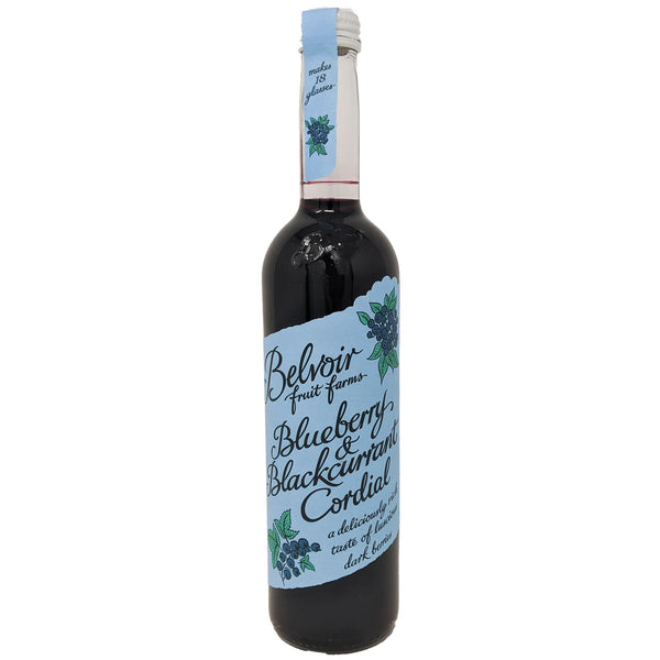 Belvoir Blueberry & Blackcurrant Cordial 500ml - Blighty's British Store