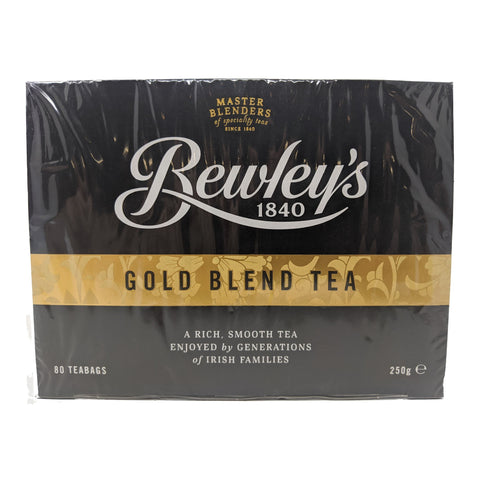 Bewley's Gold Blend Tea 80 Bags - Blighty's British Store